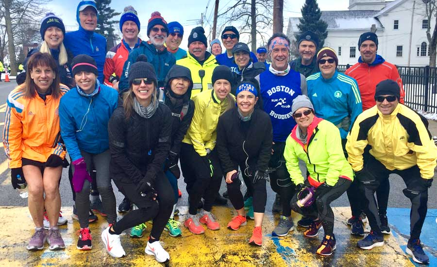 73a76a5b5 March 24, 2019 -- Yesterday's B.A.A. 21-mile Boston Marathon practice run  was beyond great. People helping people along entire route -- bringing out  the ...