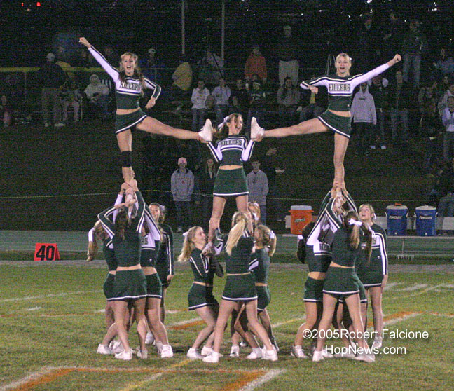 This is a picture of the stunt Pretty Girl Cheer Stunt