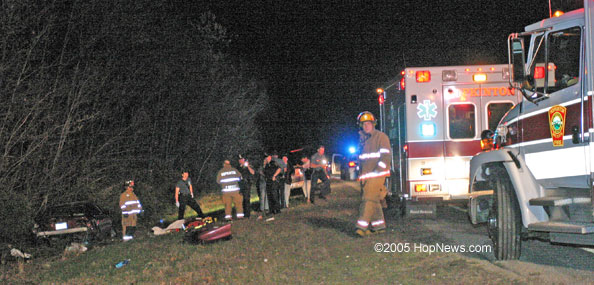 Photos of Luke Abbate Car Accident Travis Schmidt